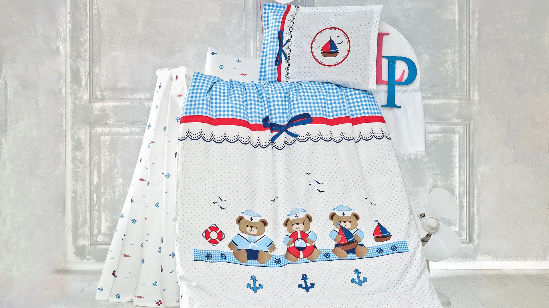 سرويس لحاف نوزادي Sailor